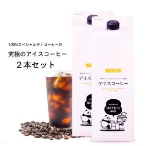 100%スペシャルティ珈琲豆究極のアイスコーヒー2本セット