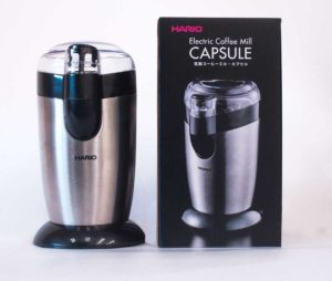 電動コーヒーミル・カプセル