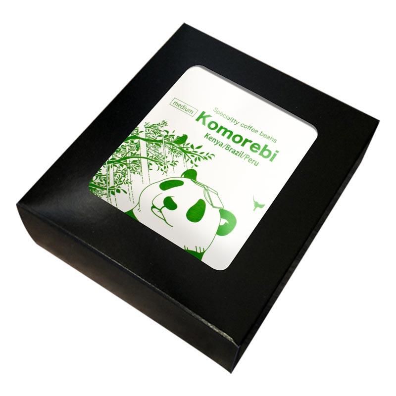 コーヒーバッグ「木漏れ日」ギフトボックス