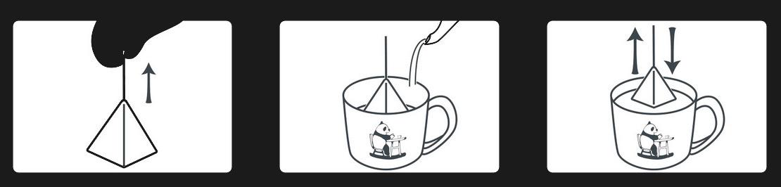 究極の手軽さ コーヒーバッグ3ステップ